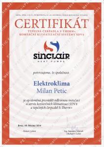 portfolio - certifikace